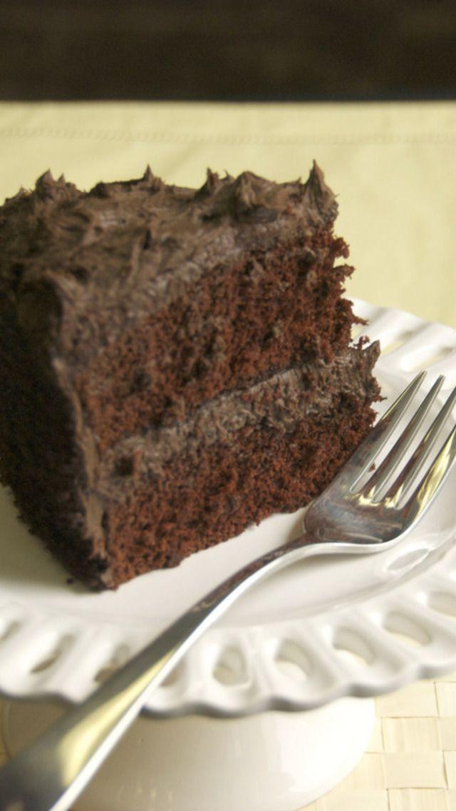 Capitol Grade Dark Chocolate Cake Recipe | Dessert | Pinterest