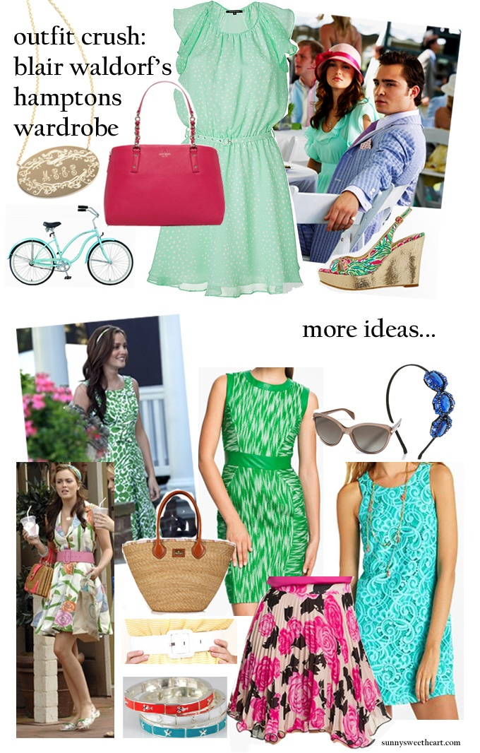 blair waldorf spring fashion inspiration