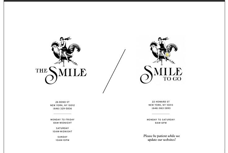The Smile / Smile To Go