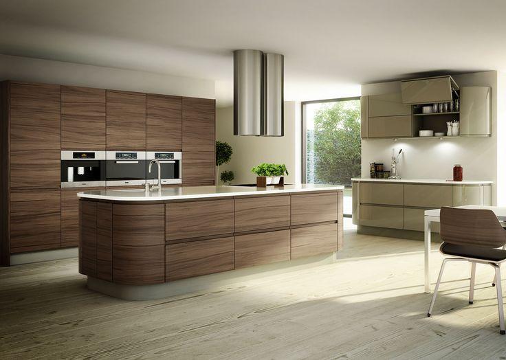 Best Modern Walnut Cabinets Kitchen Pinterest 400 x 300