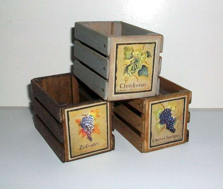 Ящики для декупажа