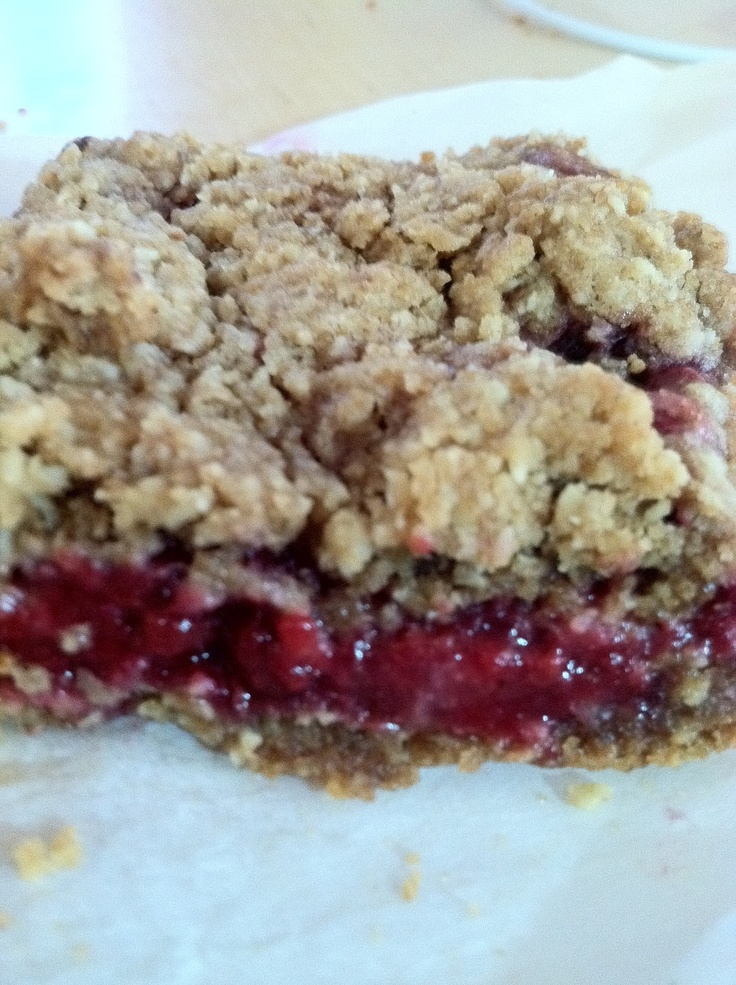 Raspberry Breakfast Bars | Breakfast | Pinterest