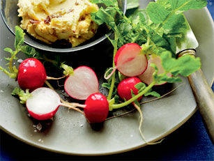 Radishes & Anchovy Butter