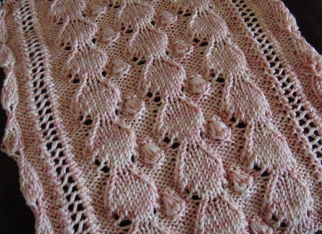 Free Pattern Troilleps Mother of Pearl Scarf Follow link to Mother  Mother Of Knit Knit Pearl Scarf Pattern