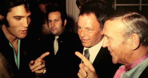 Elvis Presley, Frank Sinatra e Fred Astaire.
