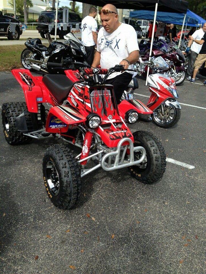 Red Yamaha Banshee