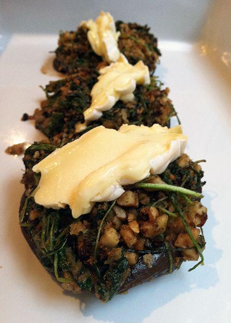 Brie Stuffed Portobellos | In the kitchen | Pinterest