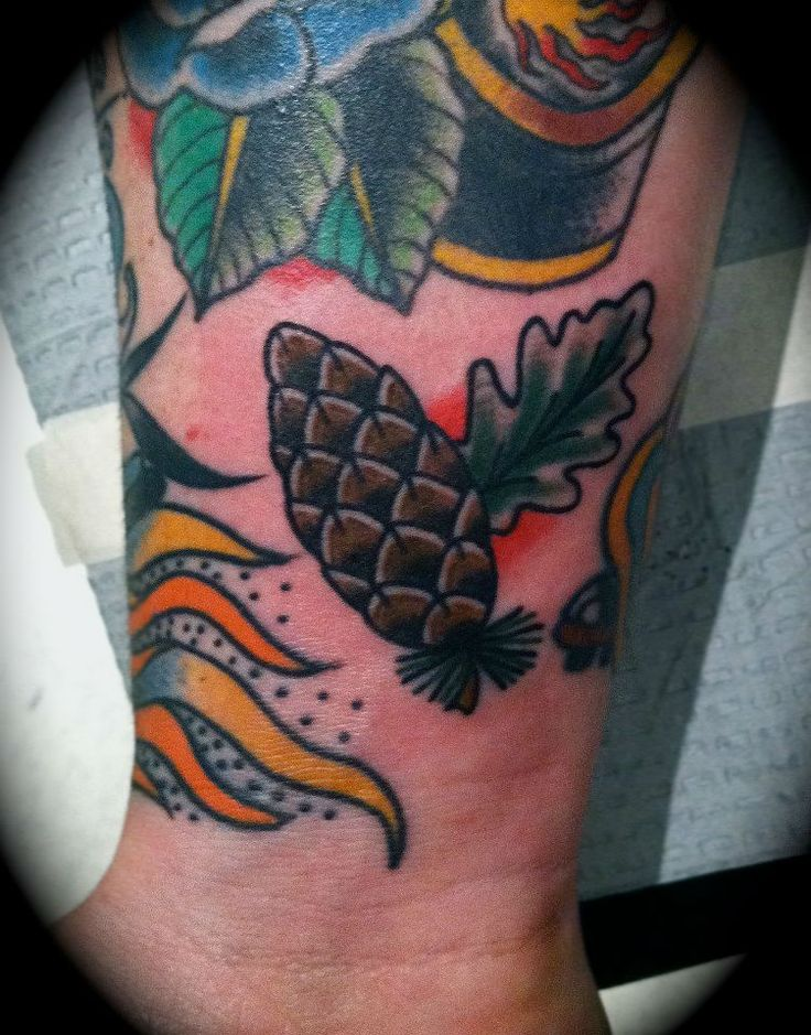 Pinterest discover and save creative ideas for Pine cone tattoo