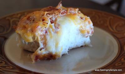 CHEESY BACON PULL-APARTS | You had me at Bacon | Pinterest
