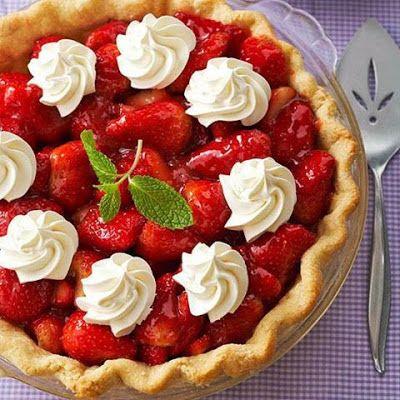 Welcome Home: ♥ Strawberry Pie fresh   desserts   Pinterest