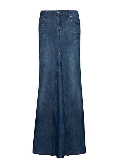 mango skirt maxi denim skirt my style
