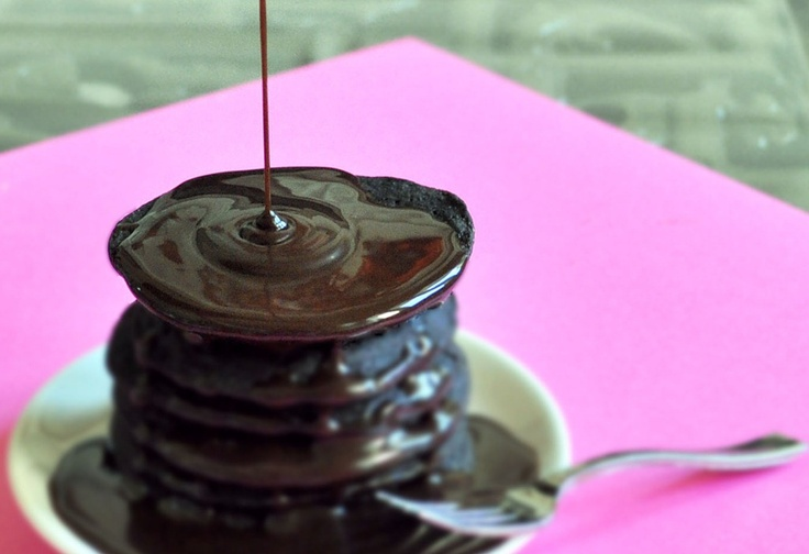brownie batter pancakes. (130 calories in the entire recipe)