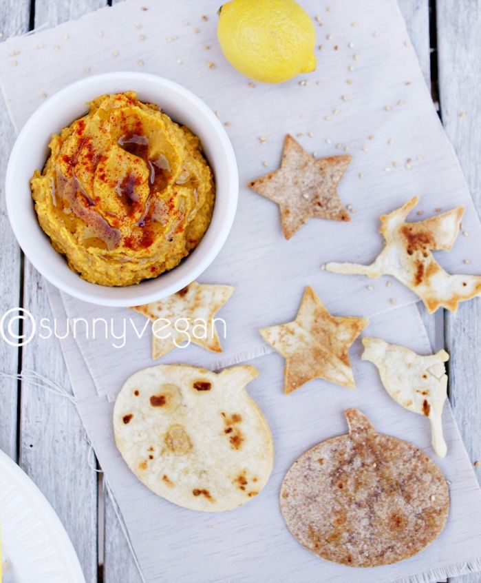 pumpkin hummus #vegan | Food | Pinterest