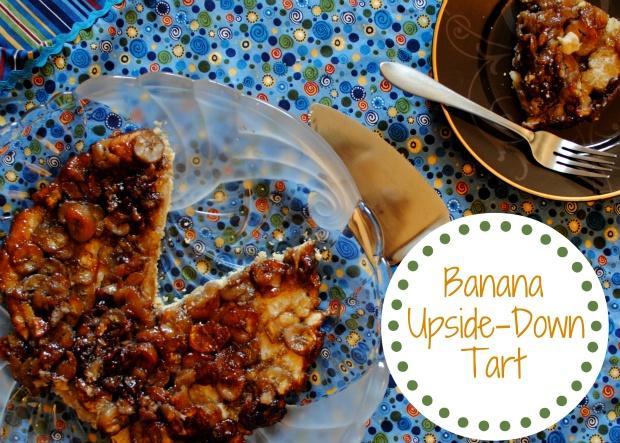 Banana Upside-Down Tart