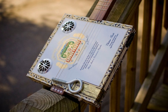 Custom project plans for 4 string cigar box guitar