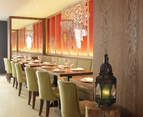 Del'Aziz Restaurant, designed by Shaun Clarkson ID