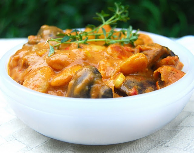 More like this: lima , stew and mushrooms .