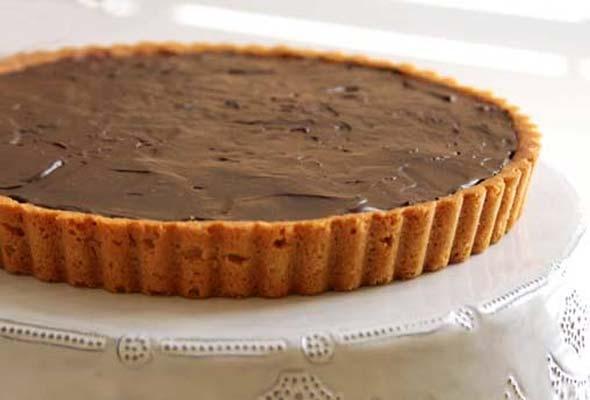 Sweet Peanut Butter Cookie Tart Crust | Recipe