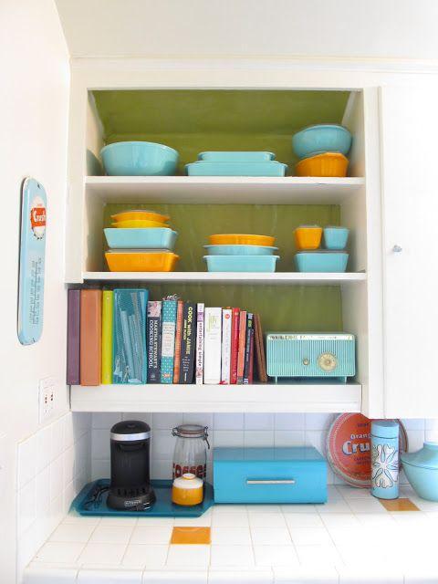 Design Kitchen Updates  Teal and Orange Kitchen  Pinter