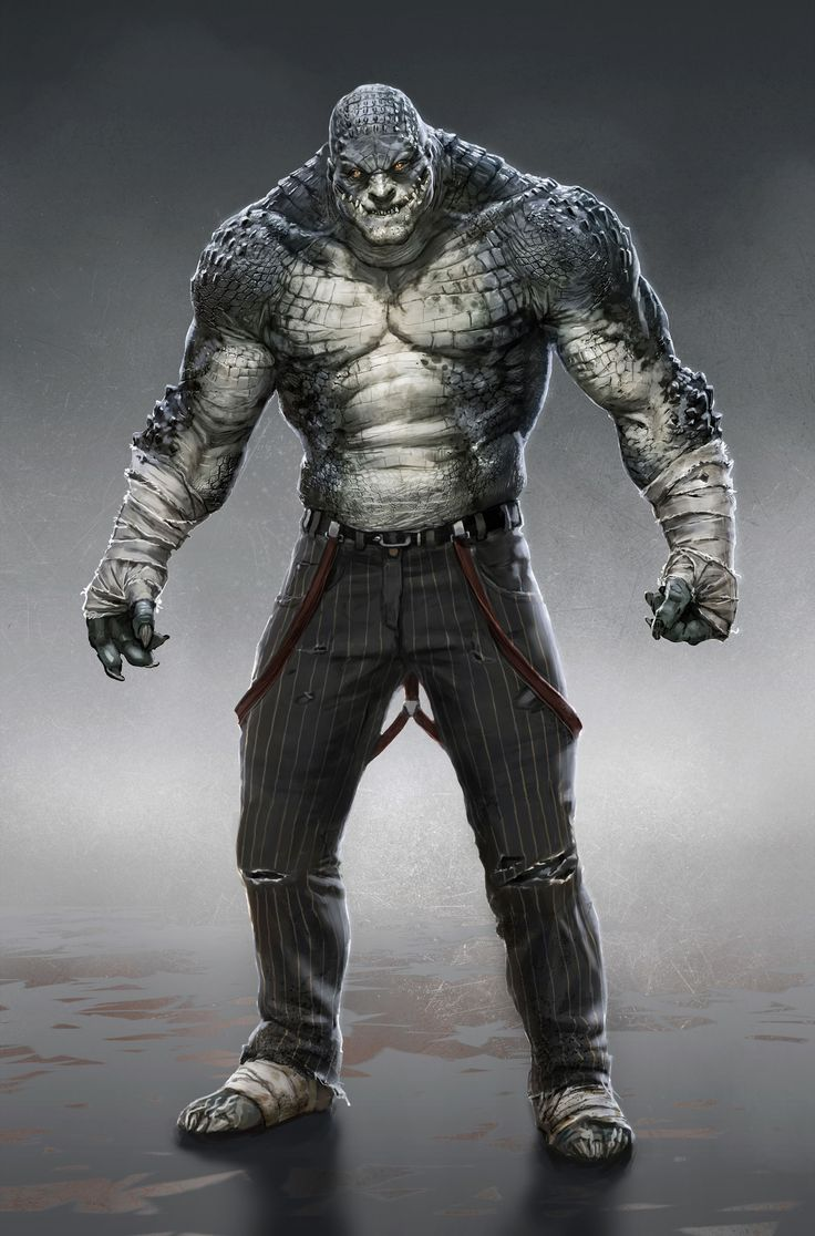 Killer Croc: Arkham Origins. | Killer Croc | Pinterest