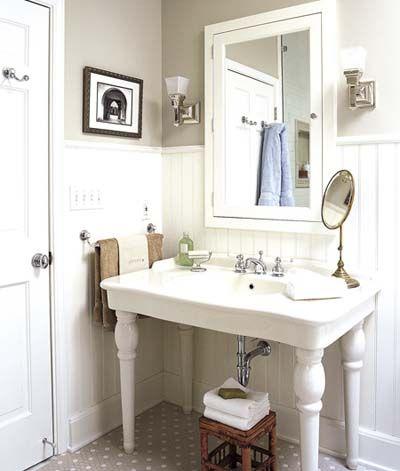 Este es el disipador de mis sueños.  # baños, vintage #, #, # fregadero clásico