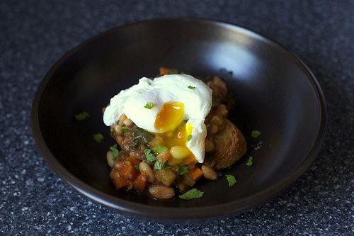 kale and white bean stew   food   Pinterest