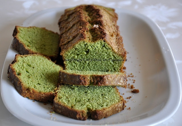 Matcha Green Tea Pound Cake | My Own Recipes @ EEWIF | Pinterest
