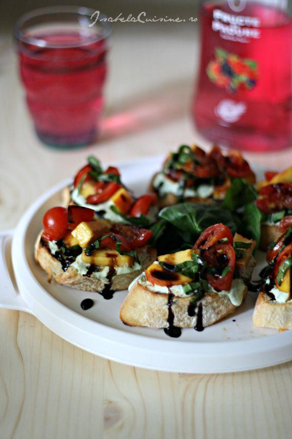 Peach, Tomato, And Ricotta Sandwich Recipes — Dishmaps