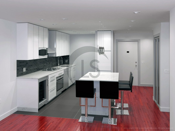 3d Kitchen Design 3d Renderings Pinterest