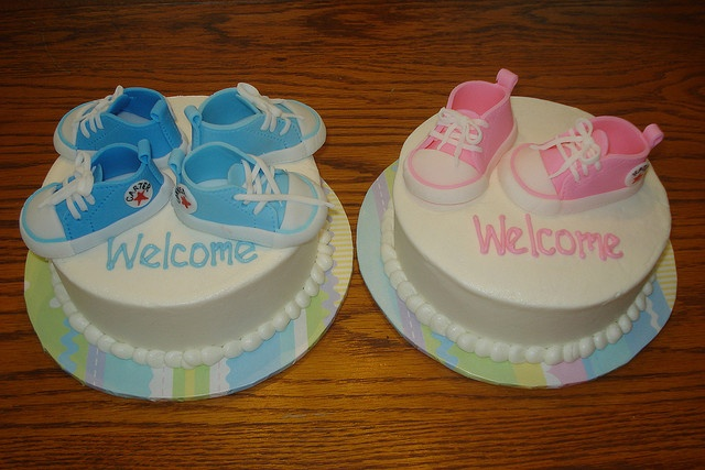 twin baby shower cake cake creations pinterest