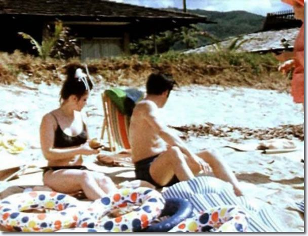 Elvis and Priscilla Hawaii, May, 1968
