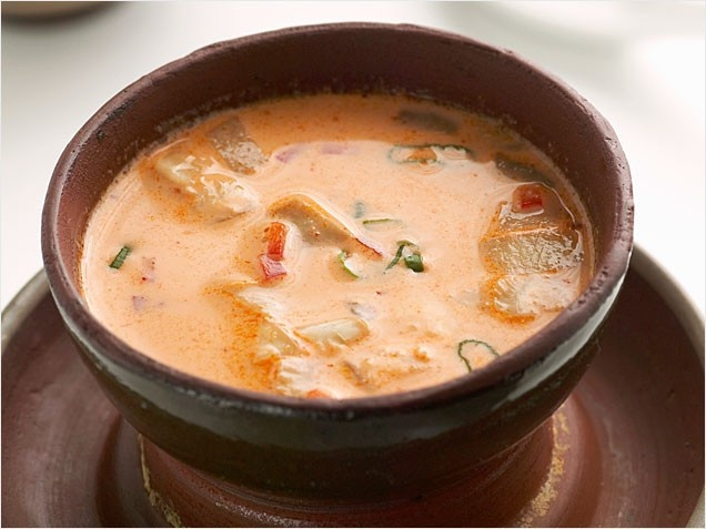 Thai Red Curry Soup (curry is a weakness of mine!)