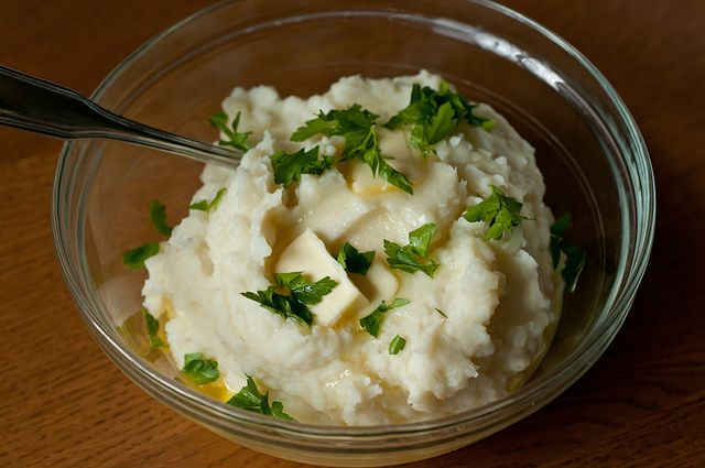 """The Best Mashed Potatoes You'll Ever Make"""". Simmer potatoes in whole..."""