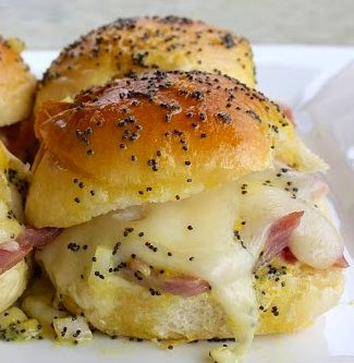 sweet ham and swiss sliders | A Little Bit of A Lot of Things | Pinte ...