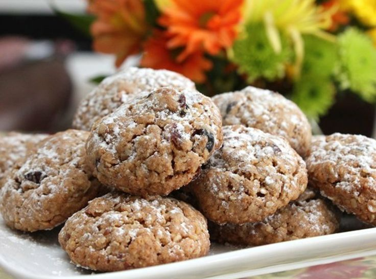 Cardamon Cranberry Oatmeal Cookies | Baked Goodies | Pinterest