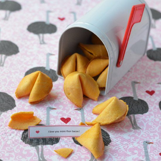 Change Your Fortune Cookies Recipe — Dishmaps