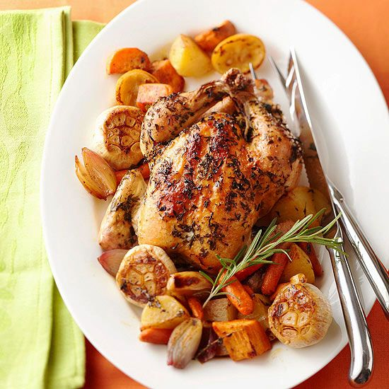 Make dinner a la Julia Child with our Classic Roasted Chicken recipe ...