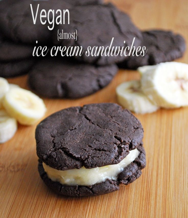 ... Ice Cream Sandwiches, fruity cookies sandwich a frozen banana slice