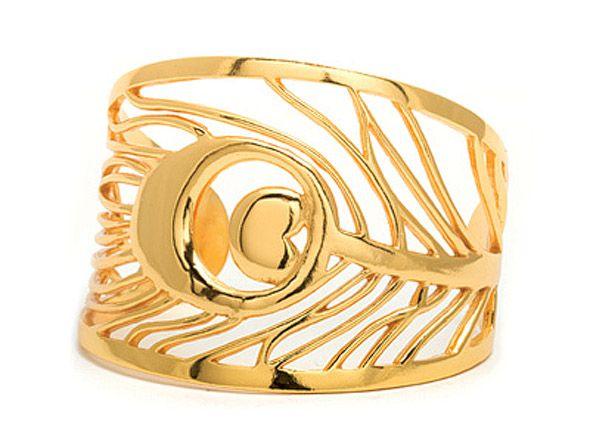 Gorjana Peacock Cuff Bracelet #GOWS #platinumlist #weddingstyle #graceormonde #luxuryweddings
