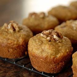 Sarah's Banana Bread Muffins Allrecipes.com Cut the sugar in half, sub ...