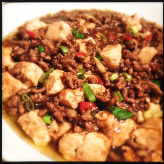 Vegetarian Mapo Tofu With Peas Recipes — Dishmaps