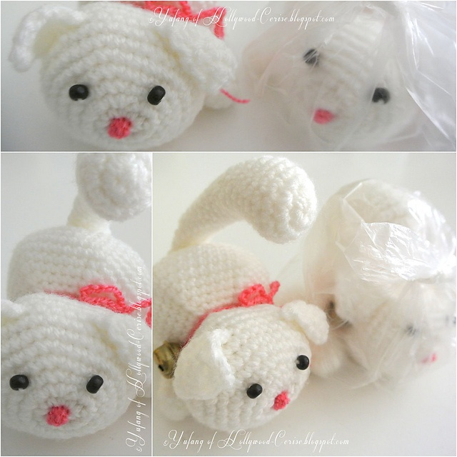 Crochet Patterns Cute : Cute kitty crochet pattern. Crochet Pinterest