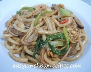 Stir-Fried Black Pepper Udon Noodles | Recipes | Pinterest