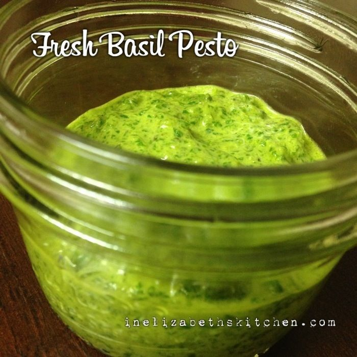 Fresh Basil Pesto | Food - Dips, Dressing, Pesto, Seasoning & Saucy S ...