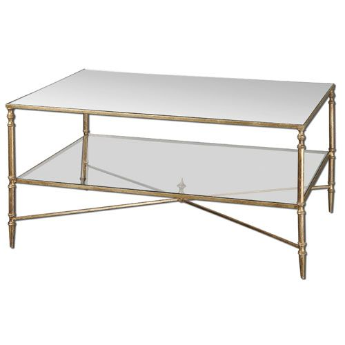 Gold Henzler Coffee Table Uttermost Cocktail Coffee Tables Accent Tab