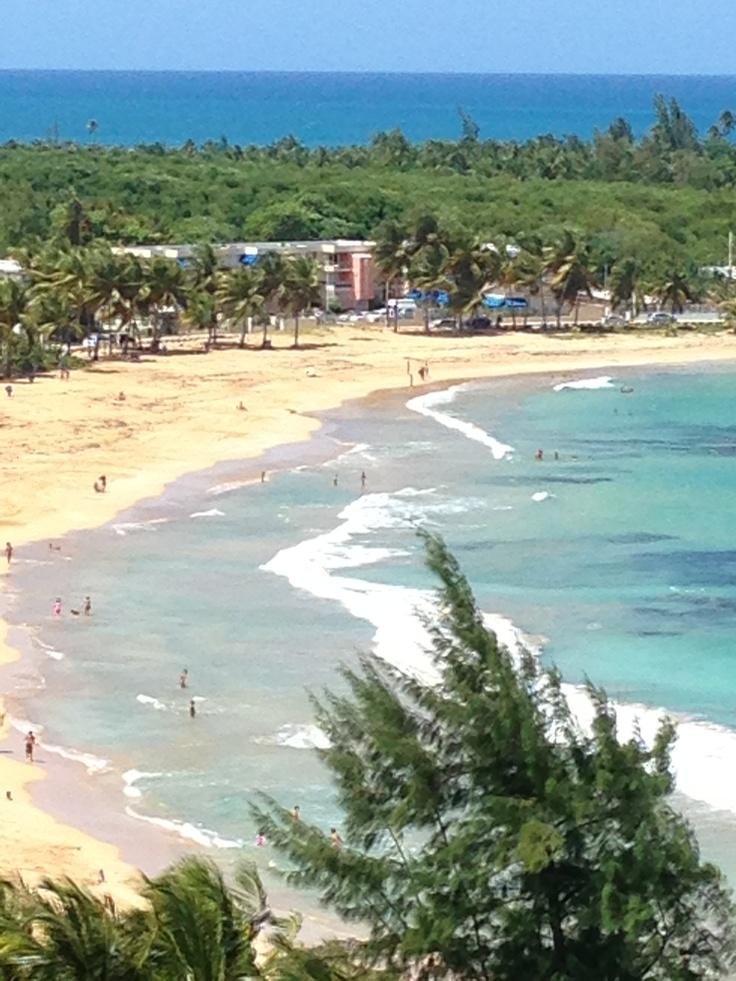 Playa Azul Luquillo Puerto Rico Puerto Rico Pinterest