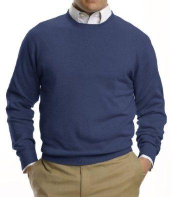 Jos A Bank Traveler Cashmere Sweater Sweater Grey