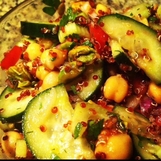 ... Pistachios Fresh dill & parsley Lemon juice Olive oil Pine nuts