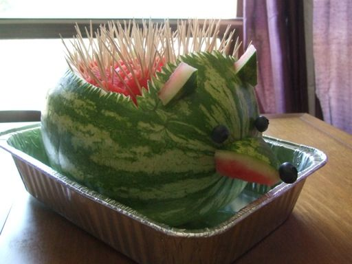 Watermelon carving party ideas pinterest