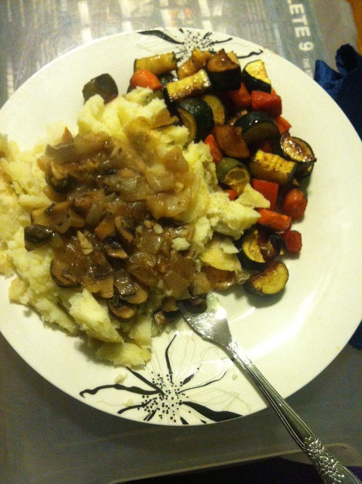 yellow onion, garlic, fresh thyme, rosemary, black pepper), roasted ...